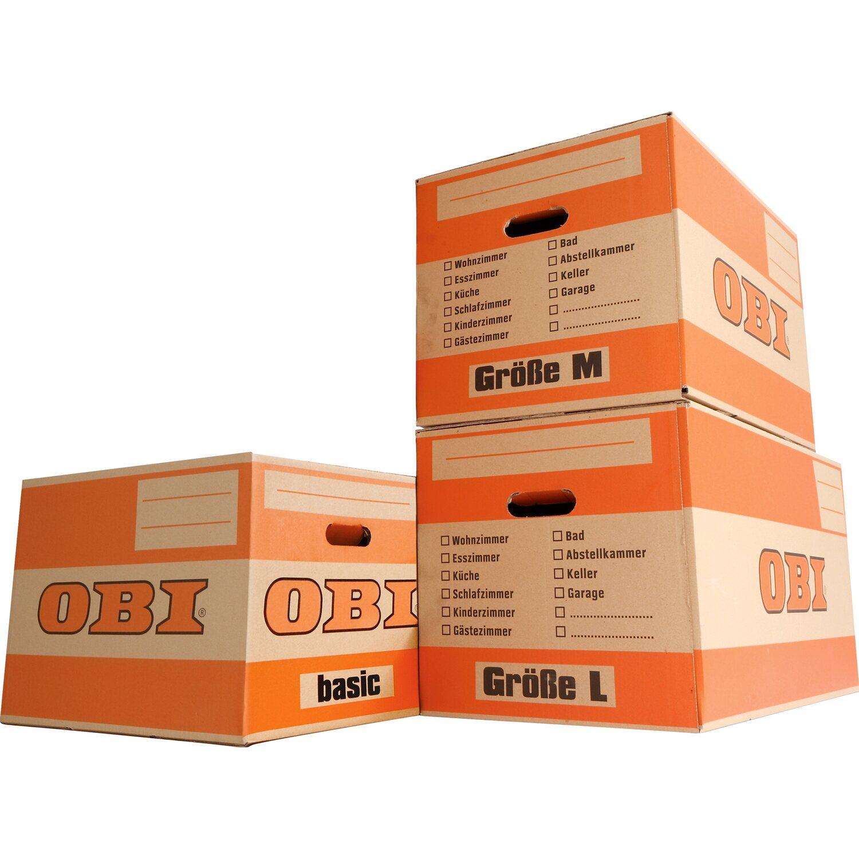 058d1a5de OBI Kartónová krabica na sťahovanie Basic. Celá obrazovka. Celá obrazovka