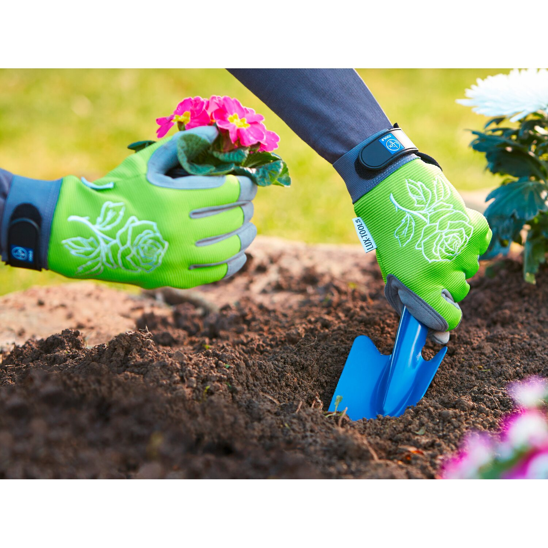 LUX Záhradné rukavice zelené veľkosť 8 (M) nakúpiť v OBI a2b8eed336