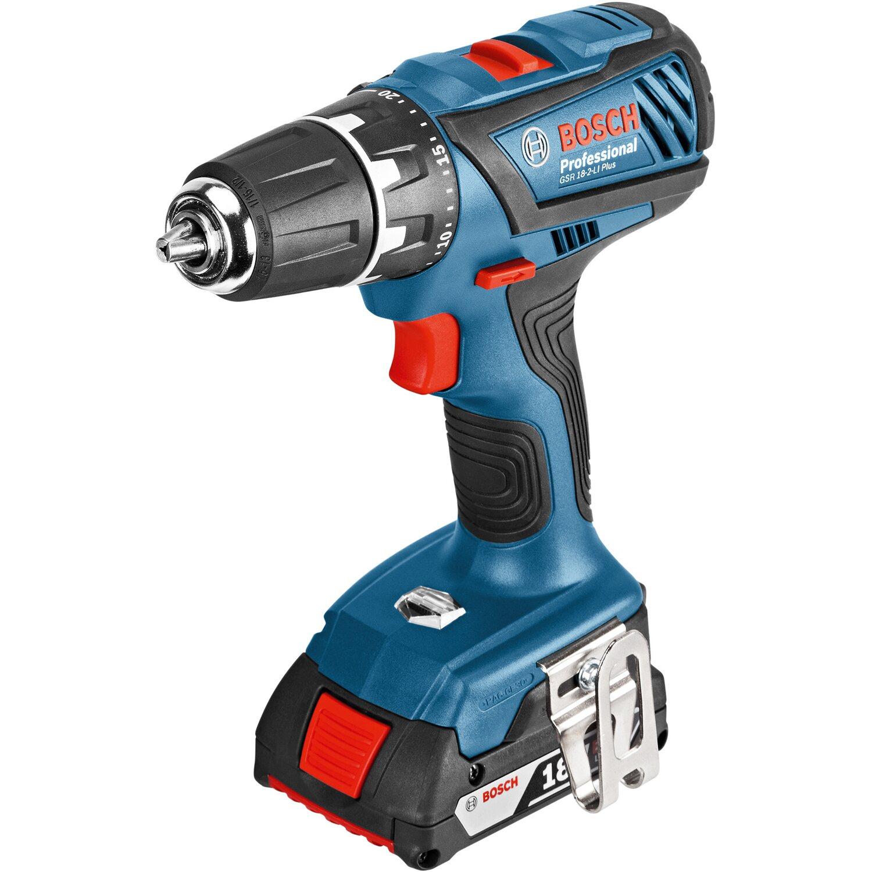 6bcfd10c5f8dc Bosch Professional Aku vŕtací skrutkovač GSR 18-2-Li Plus nakúpiť v OBI