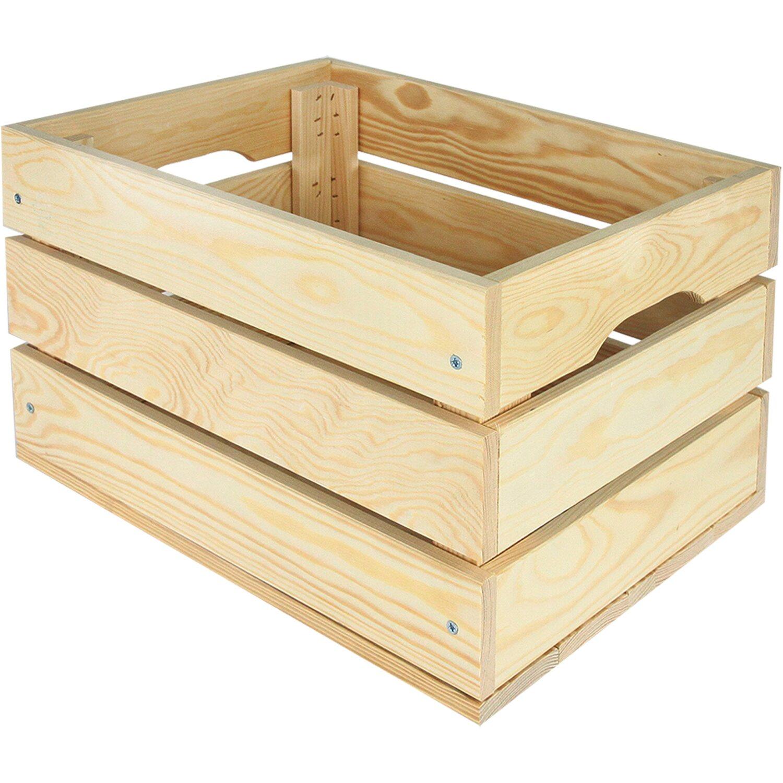 427072503 Univerzálna drevená debna XL 46,6 l nakúpiť v OBI
