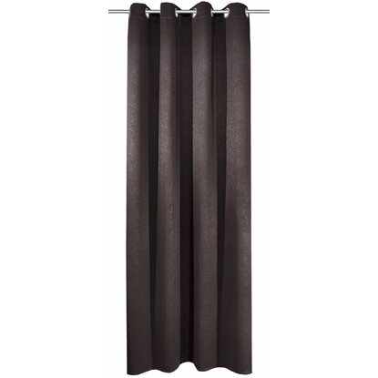 Blackout Záves s pútkami Leather 245 cm x 135 cm antracit