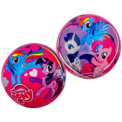 Happy People Plastová lopta My little Pony 23 cm