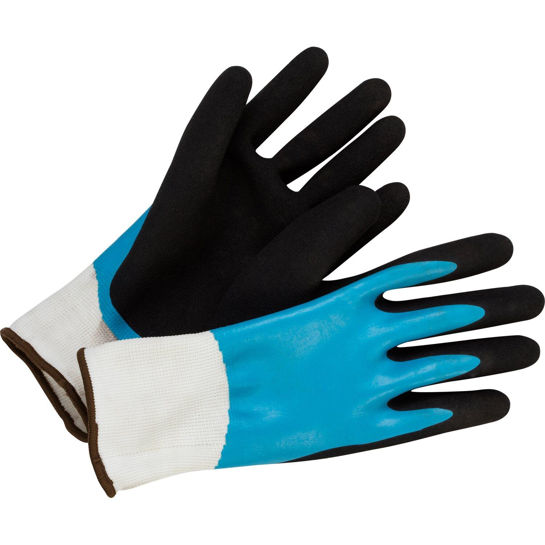 46aa8f7b579 LUX Záhradné rukavice Comfort s celoplošnou nitrilovou vrstvou veľkosť č. 10