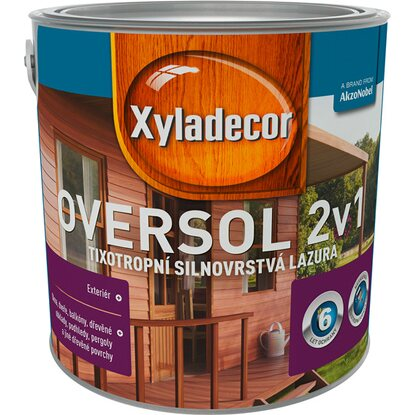 Xyladecor Oversol 2v1 rosewood 2,5 l