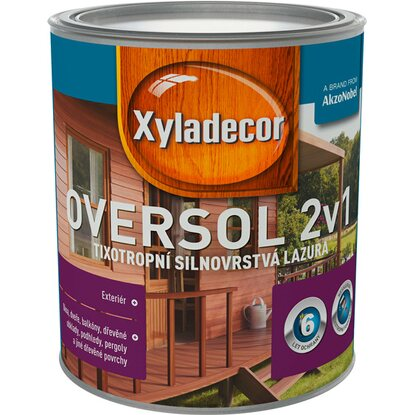 Xyladecor Oversol 2v1 sipo 0,75 l