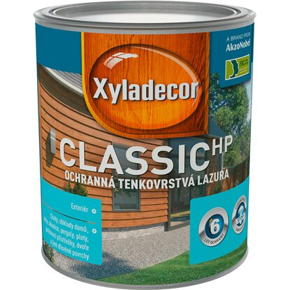 Xyladecor classic HP smrekovec 0,75 l
