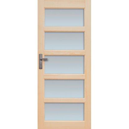 7706f9ea3 Radex Dvere drevené interiérové Sevilla 5 skiel 80 L nakúpiť v OBI
