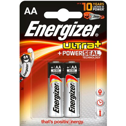 Energizer Batéria Ultra Power Seal AA, 2 ks