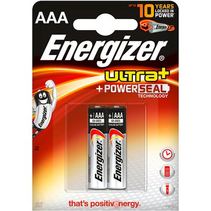 Energizer Batéria Ultra Power Seal AAA, 2 ks