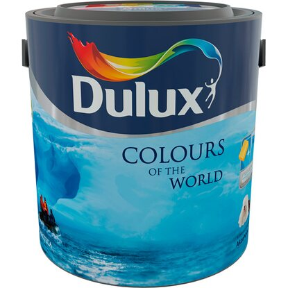 Dulux Colours Of The World mrazivý tyrkys 2,5 l