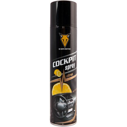 Coyote Sprej Cockpit citrón 400 ml