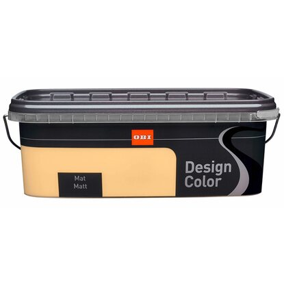 OBI Design Color mat Cheesecake 2,5 l