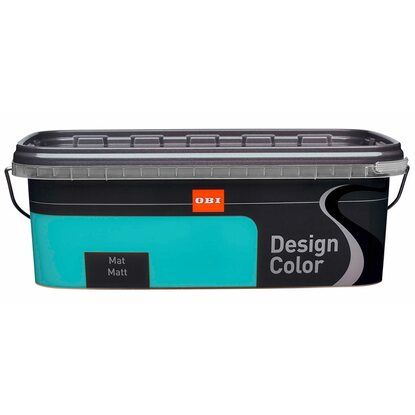 OBI Design Color mat Truquoise 2,5 l