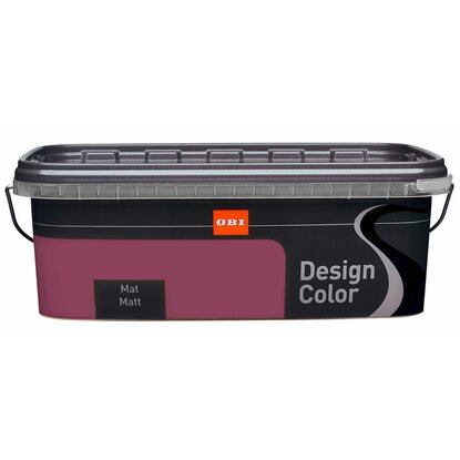 OBI Design Color mat Berry 2,5 l