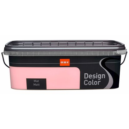 OBI Design Color mat Rose 2,5 l