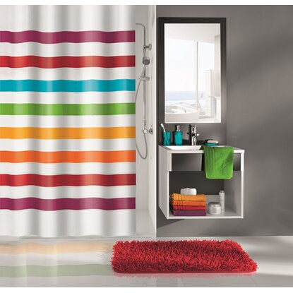 OBI Sprchový záves Select 180 cm x 200 cm multicolor