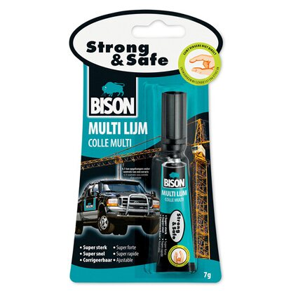 BISON Lepidlo Strong & Safe, 7 ml/g