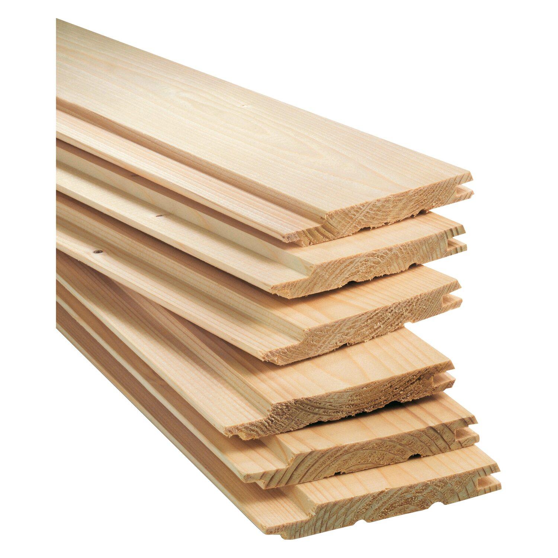 Profilové drevo Helsinki drážka a pero 12,5 mm x 96 mm x