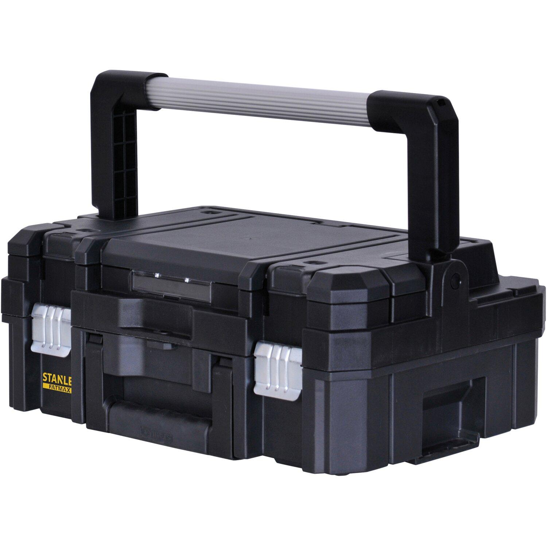 de981f8a9f981 Stanley FatMax Systém uskladnenia Tstak I veľký kufor na náradie ...