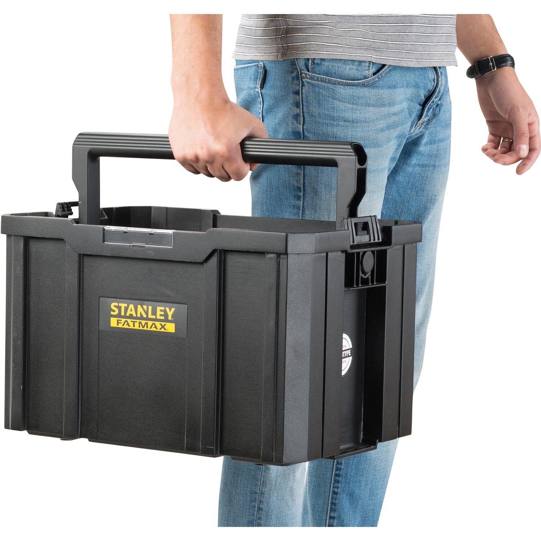 f95f221056489 Stanley FatMax Uskladňovací systém Tstak kufrík na náradie. Celá obrazovka.  Celá obrazovka