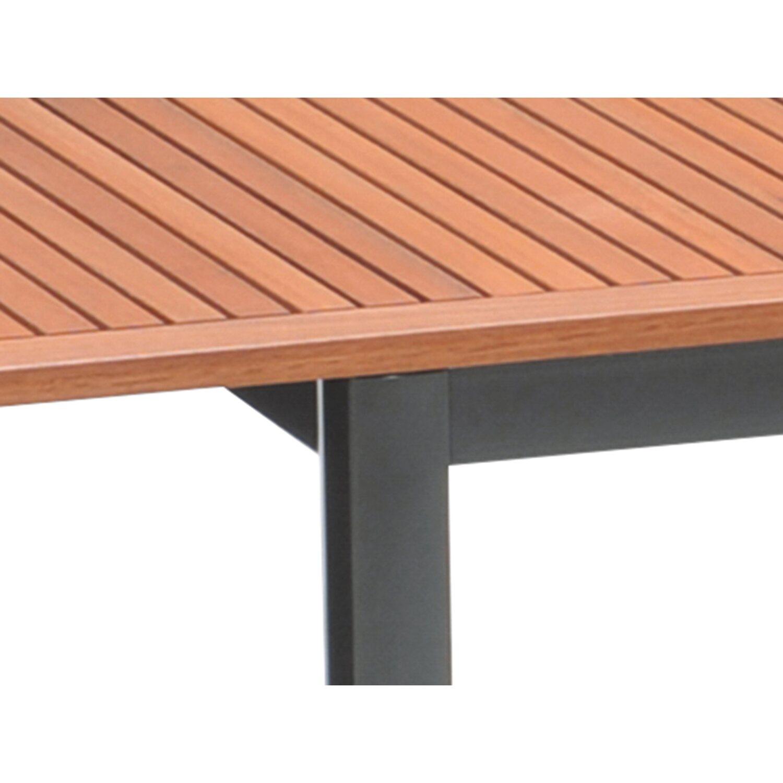 5723cbef11d1 OBI Drevený stôl do záhrady Harris 180 240 cm x 100 cm rozkladací  antracitový. Celá obrazovka. Celá obrazovka. Celá obrazovka. Celá obrazovka