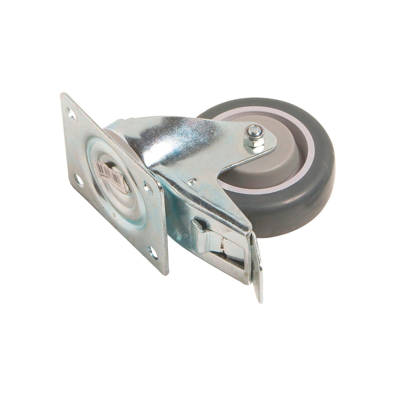 1d9a80e091a45 OBI Otočné prepravné koliesko s gumovou obručou a brzdou, priemer 100 mm  150 kg