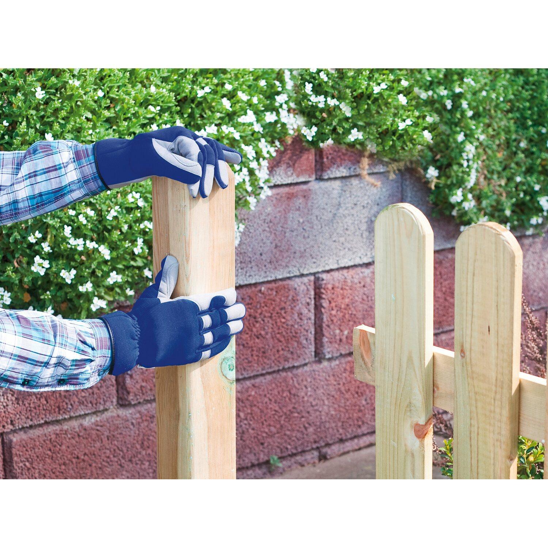 LUX Záhradné rukavice modré XL. Celá obrazovka. Celá obrazovka 6c4bae6363