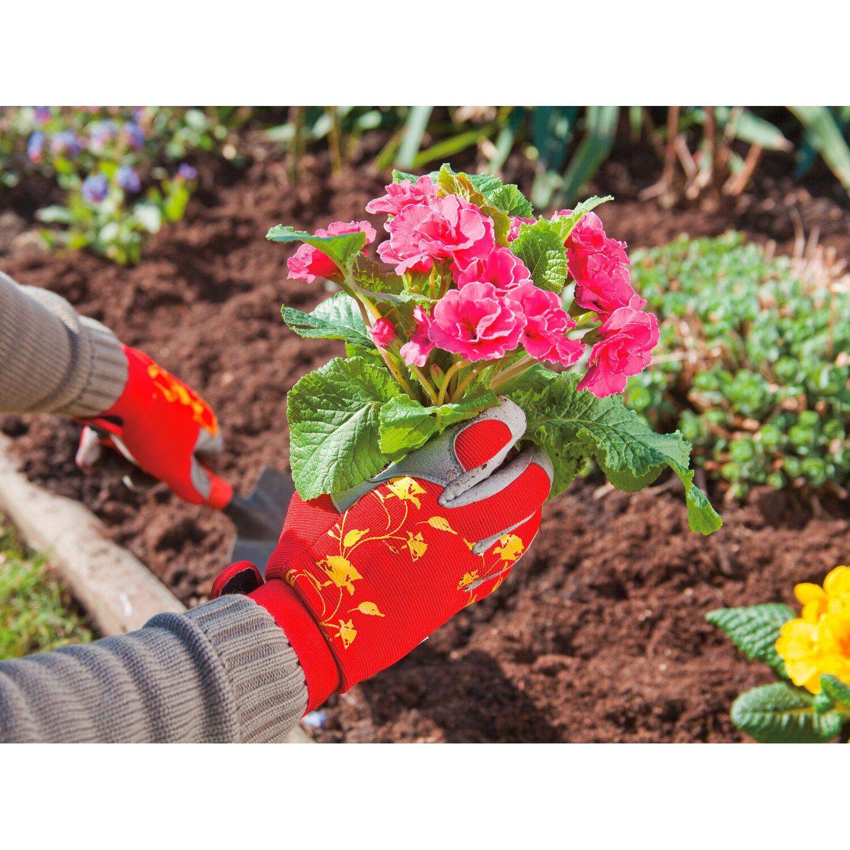 LUX Záhradné rukavice červené M nakúpiť v OBI da76e9356f