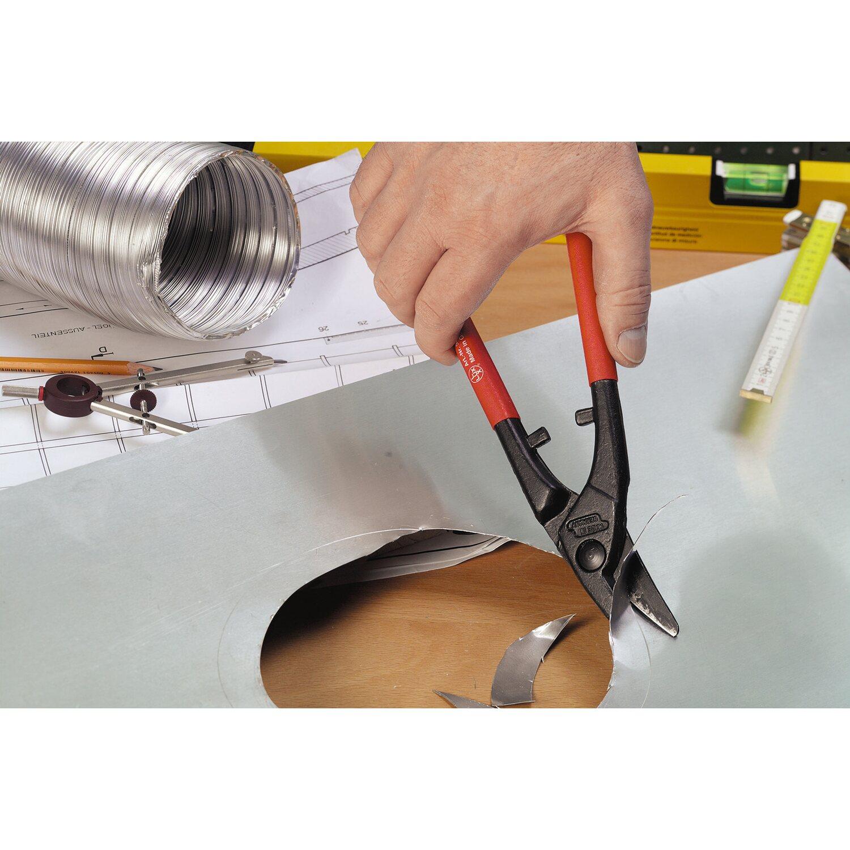 d687545a6b531 LUX Dierkovacie nožnice na plech 250 mm Comfort nakúpiť v OBI
