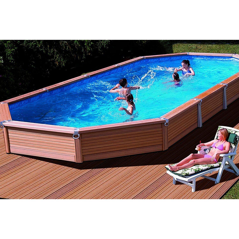 Summer Fun Súprava S Bazénom A Plášťom Azteck 690 Cm X 365 Cm X 140 Cm