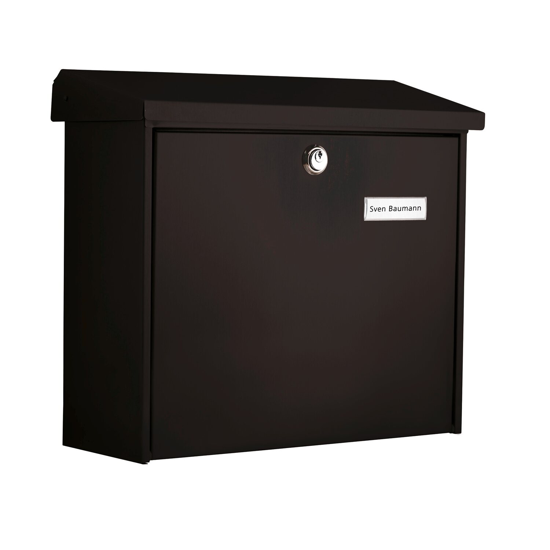 231c37e57a04 Burg Wächter poštová schránka Comfort 913 čierna nakúpiť v OBI