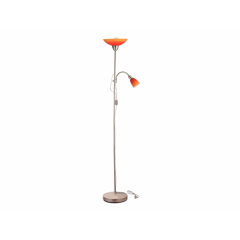 OBI stojanová lampa Pienza s lampičkou na čítanie červeno-oranžová nakúpiť v OBI