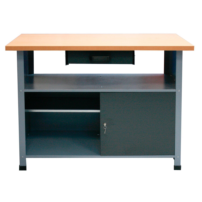 86a9a9291 Pracovný stôl 1 dvere 1 zásuvka šírka 1200 mm nakúpiť v OBI