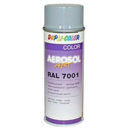 Dupli-Color Lak v spreji Aerosol-Art striebrosivý 400 ml