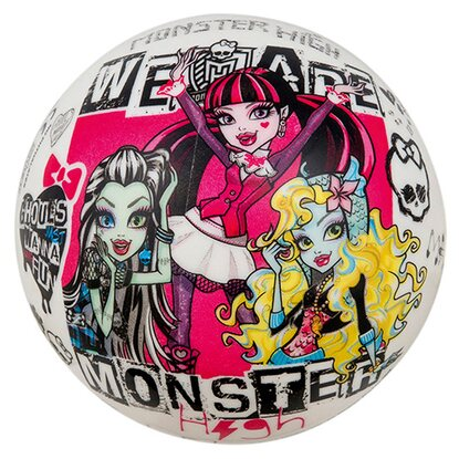 Happy People Plastová lopta Monster High 14 cm