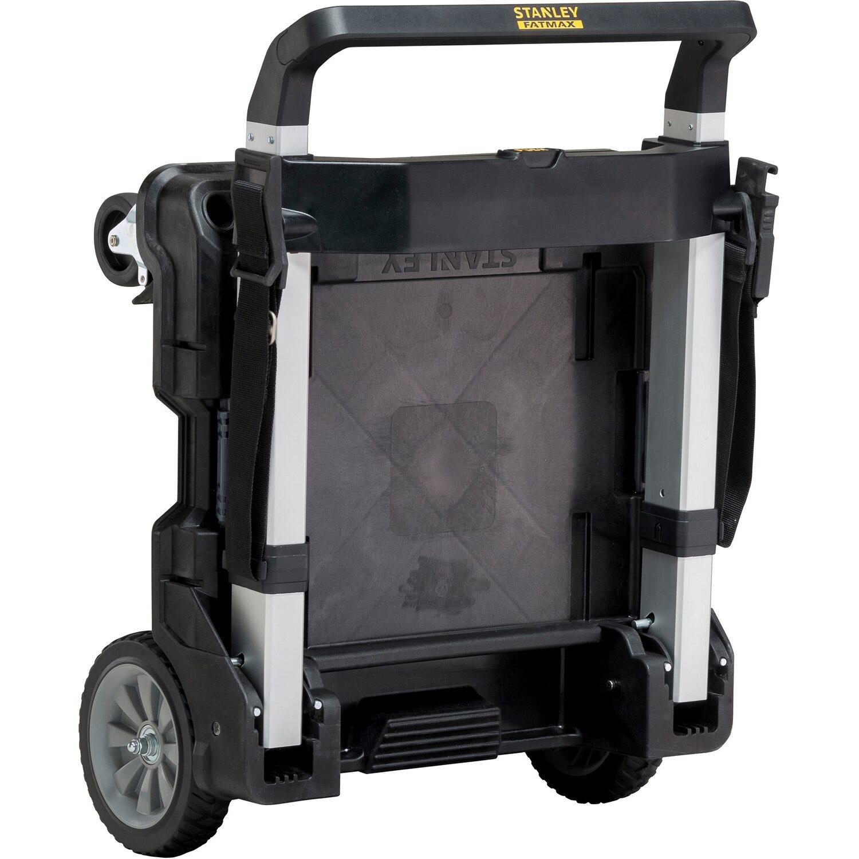 851fede71c2ca Stanley FatMax Uskladňovací systém Tstak skladací hliníkový vozík na  kolieskach. Celá obrazovka. Celá obrazovka