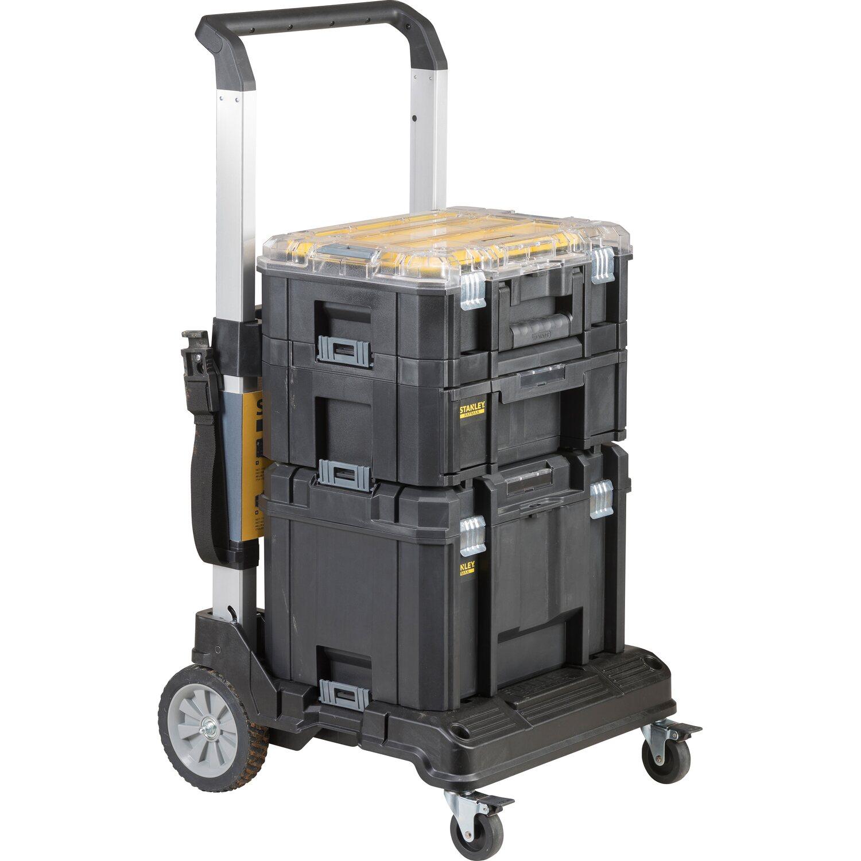 b6623311d5409 Stanley FatMax Uskladňovací systém Tstak skladací hliníkový vozík na ...