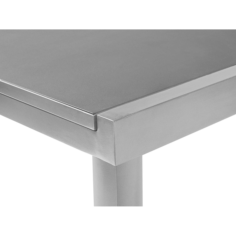 b6e67a2c3bcf OBI Sklenený záhradný stôl Harris 180 240 cm x 100 cm rozkladací  strieborný. Celá obrazovka. Celá obrazovka. Celá obrazovka. Celá obrazovka
