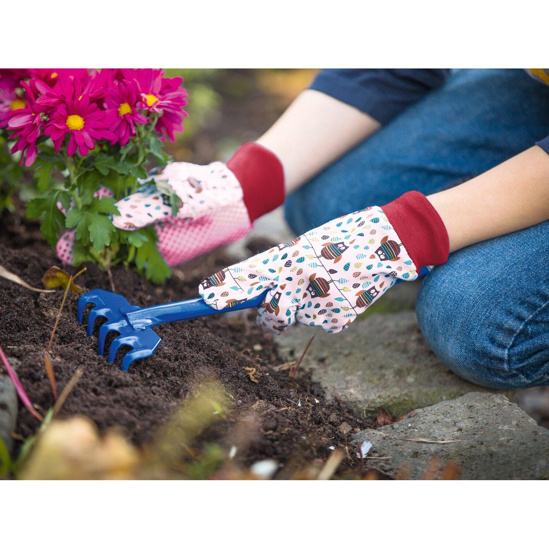 LUX Detské rukavice Classic so sovami ružové veľkosť č. 5 nakúpiť v OBI 681c39e4e9