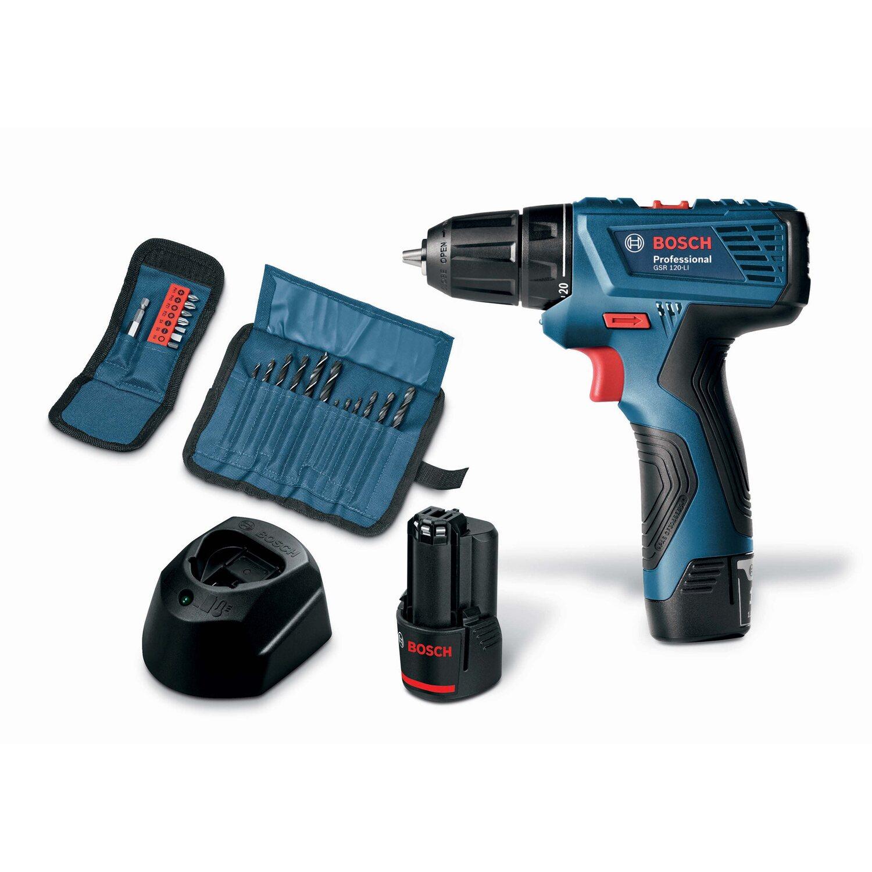 1ce703eec3f4e Bosch Professional Aku skrutkovač GSR 120 Li nakúpiť v OBI