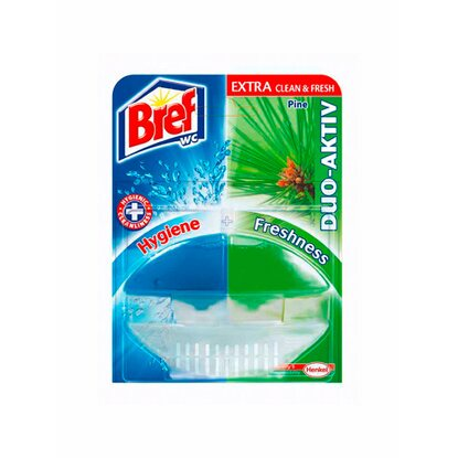 Bref WC blok Duo aktiv pine 60 ml